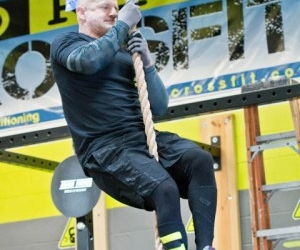 North Smithfield Man Completes 50 Rope Climbs For 'Over The Hill' Birthday