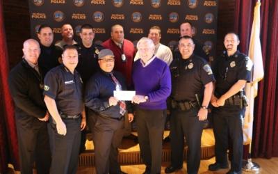 Methuen Police Patrolman's Union Donates $3,400 to CFKWC