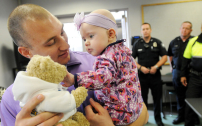 Police Help Port Family in Infant's Battle with Cancer