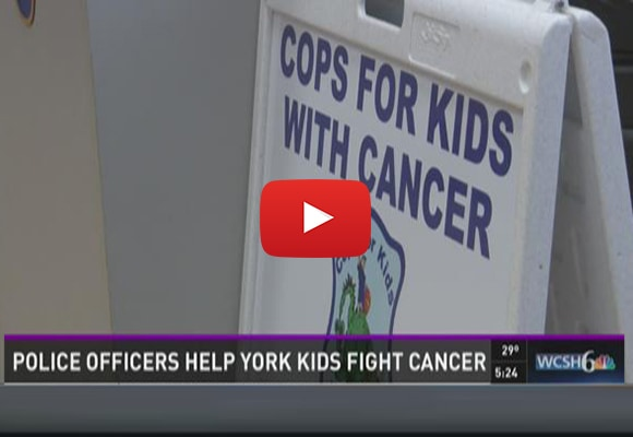 Police Officers Help Kids Fight Cancer