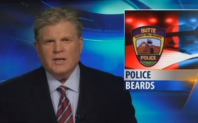 A hairy situation for Butte officers