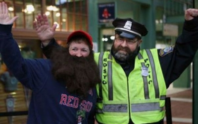 Marlborough Police Aren't Shaving to Support Cops for Kids With Cancer