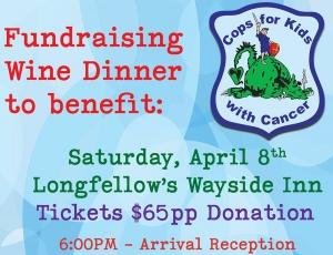 Wine Dinner Fundraiser @ Longfellow's Wayside Inn | Sudbury | Massachusetts | United States