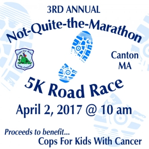 3rd Annual Not-Quite-the-Marathon 5K @ Waterfalls | Canton | Massachusetts | United States