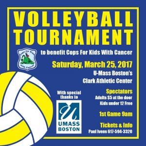 Volleyball Tournament @ U-Mass Boston | Boston | Massachusetts | United States