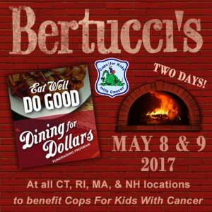 Dining for Dollars @ Bertucci's Restaurants | Rocky Hill | Connecticut | United States