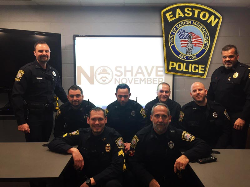 Easton MA Police No Shave November