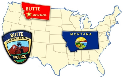 Shout Out to the Police Officers in Butte, Montana