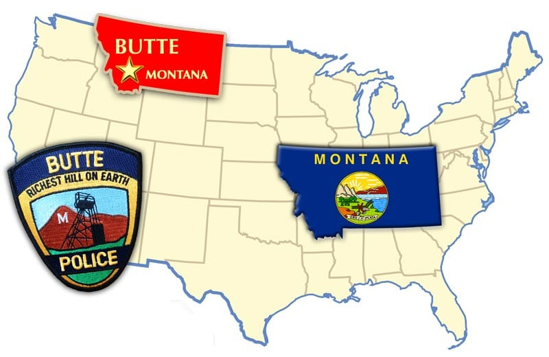 Butte Montana Police No Shave November