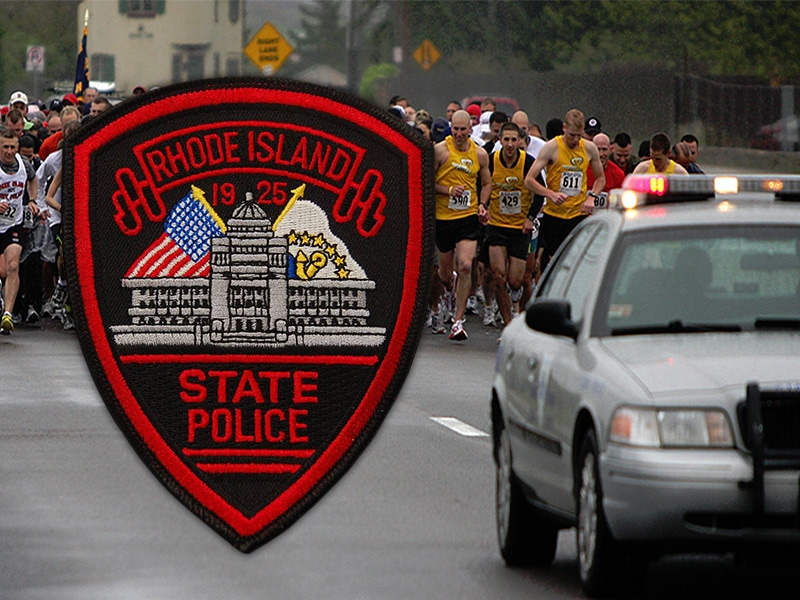 Rhode Island State Police team