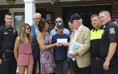 Donation to Salem Teen and Family