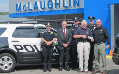 McLaughlin Chevrolet of Whitman Mass. stands with CFKWC