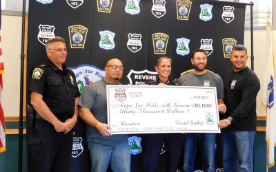 Revere PD Raises $30,000 at Charity Event