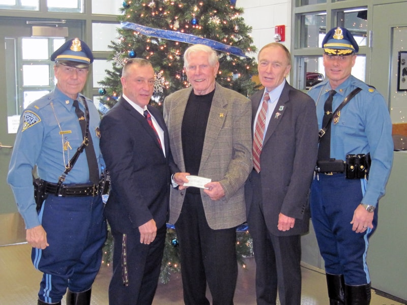Bourne State Police Donate $10,000 to CFKWC