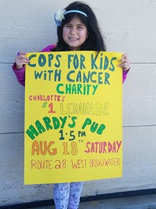 Charlotte's Lemonade Stand @ Hardy's Restaurant and Pub | West Bridgewater | Massachusetts | United States