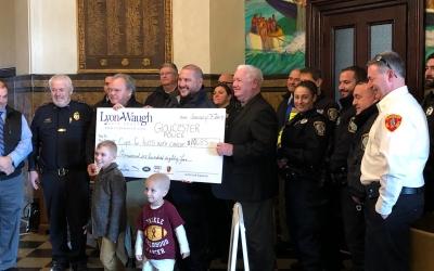 Lyon-Waugh Auto Group Donation