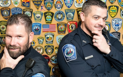 Nahant Cops Growing Beards For A Cause