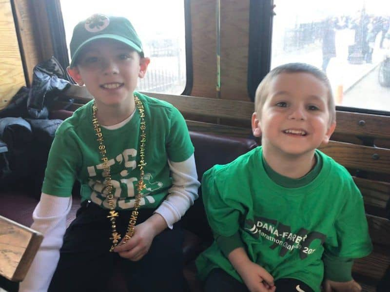 St. Patrick's parade in Boston