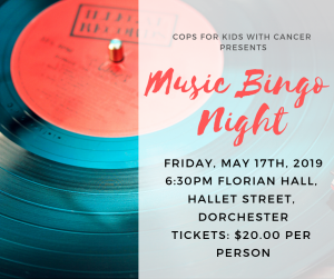 Music Bingo Night @ Florian Hall, Hallet Street, Dorchester | Boston | Massachusetts | United States