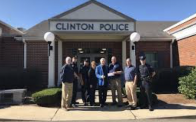 Clinton Police Department donates $5,000