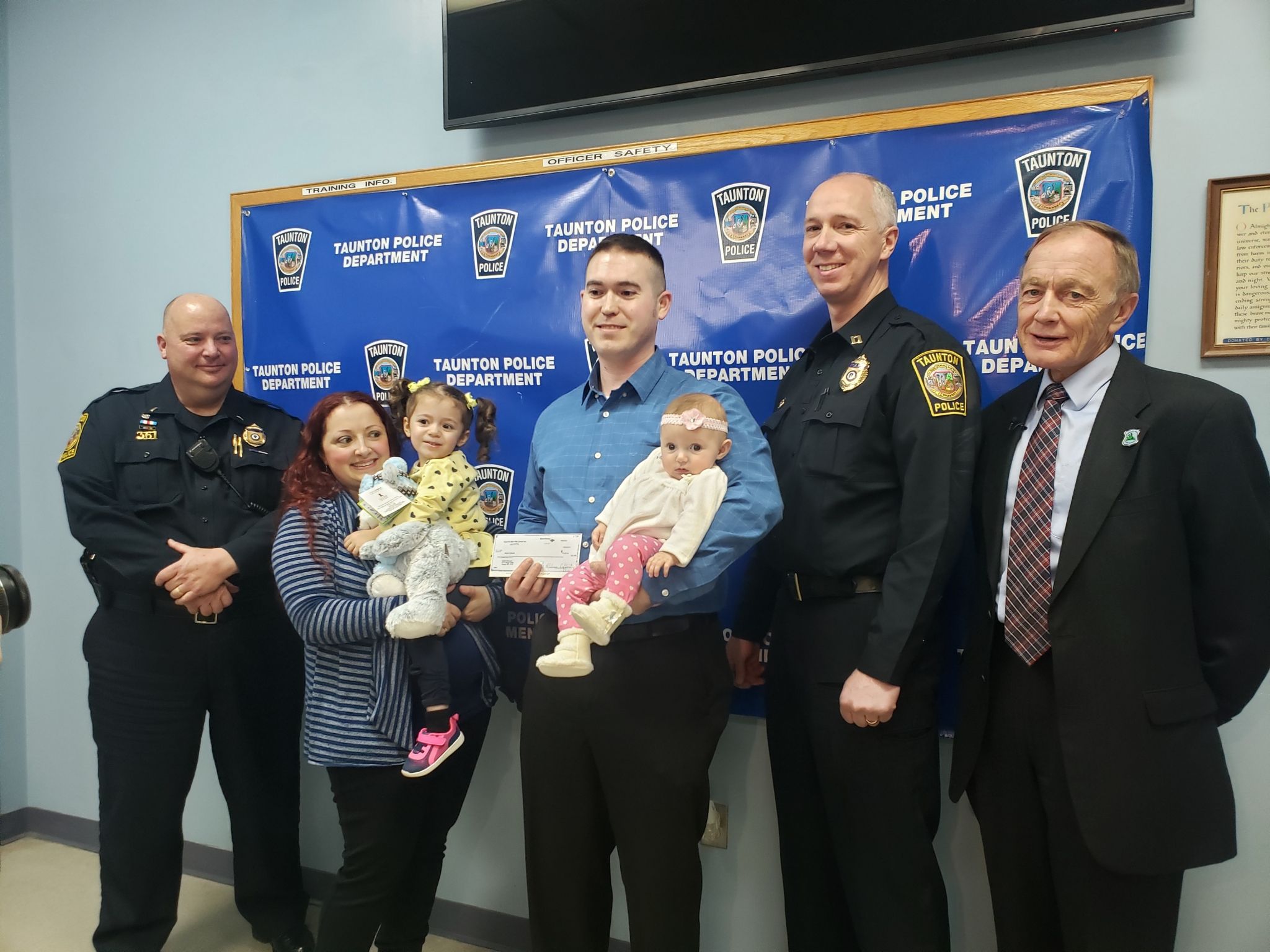 $5,000 donation to 4-month-old Holly Rodrigues