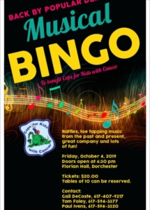 Music Bingo Night @ Florian Hall