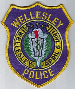 Wellesley PD Patch