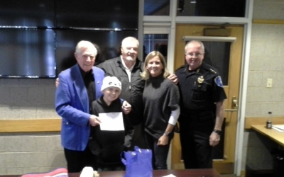 CFKWC Gives $5,000 Donation to 12 Year Old with T-Cell Lymphoblastic Lymphoma