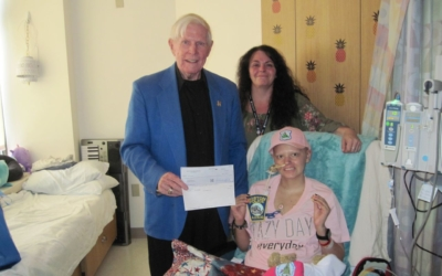 CFKWC Makes $5,000.00 Donation to the Family of Makaylie Gray in Newport, NH