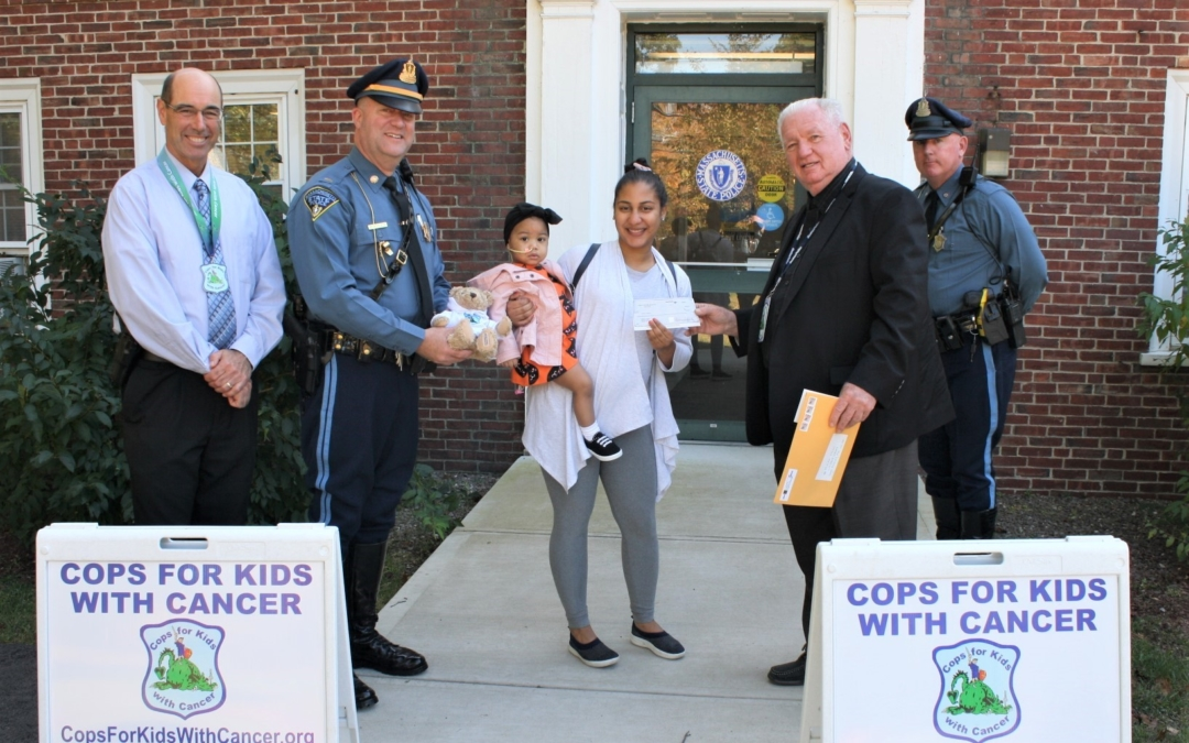 CFKWC and Andover Barracks Give $5,000 Check to the Valentin Family