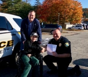 CFKWC Gives $5,000.00 Donation to the Family of Elijah Avila, a 15-year-old boy from Maine