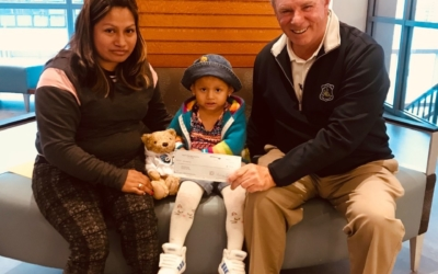 CFKWC Goes to Dana Farber to Made Donation to 3 Year Old Meiling and Mom Maria.