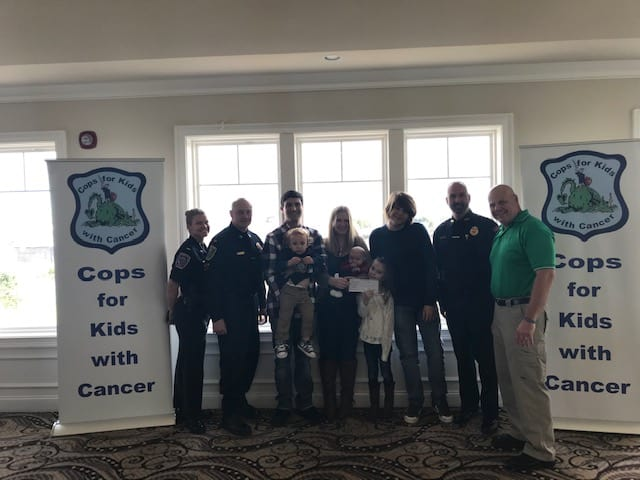 CFKWC Made Donation to 7 Year Old Sophia Bongarzone and Her Parents