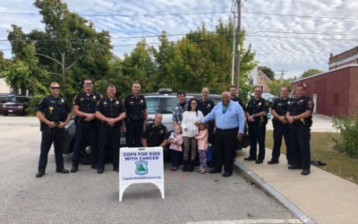 CFKWC and Rochester, NH. Police Department Make Donation To 3-Year-Old