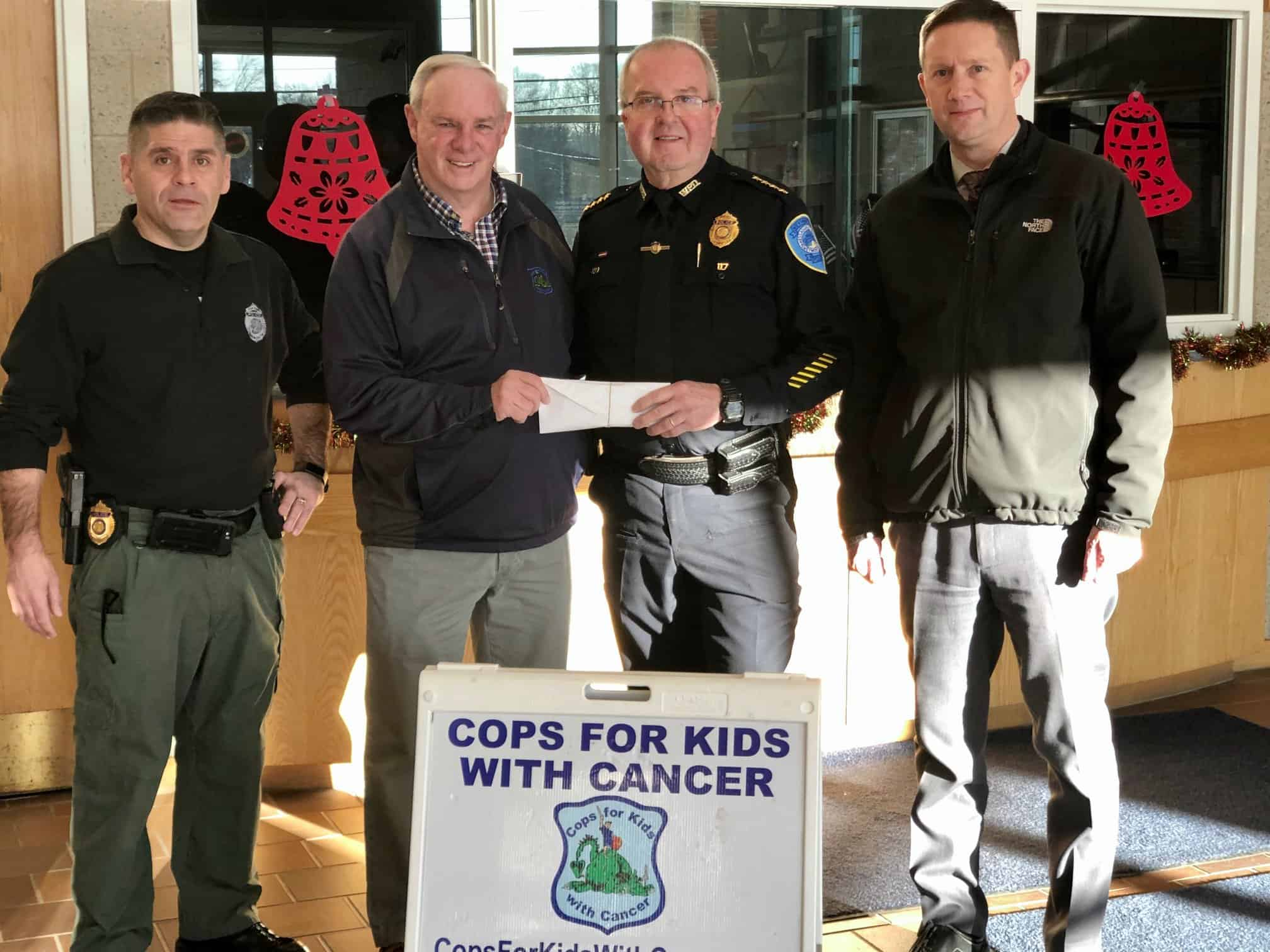 Weymouth Police Department NSN 2019 Donation