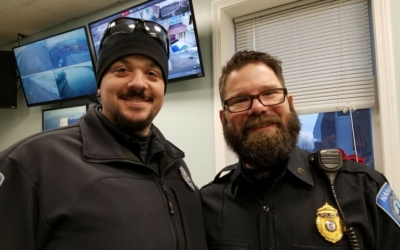 For New Year, Nahant Officers Shave Their Beards
