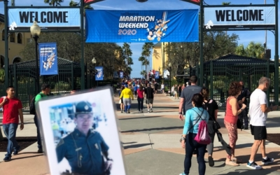"MA State Police Trooper, Matt Covino joins in on Disney's ""Marathon Weekend"" in memory of Billy Coulter"