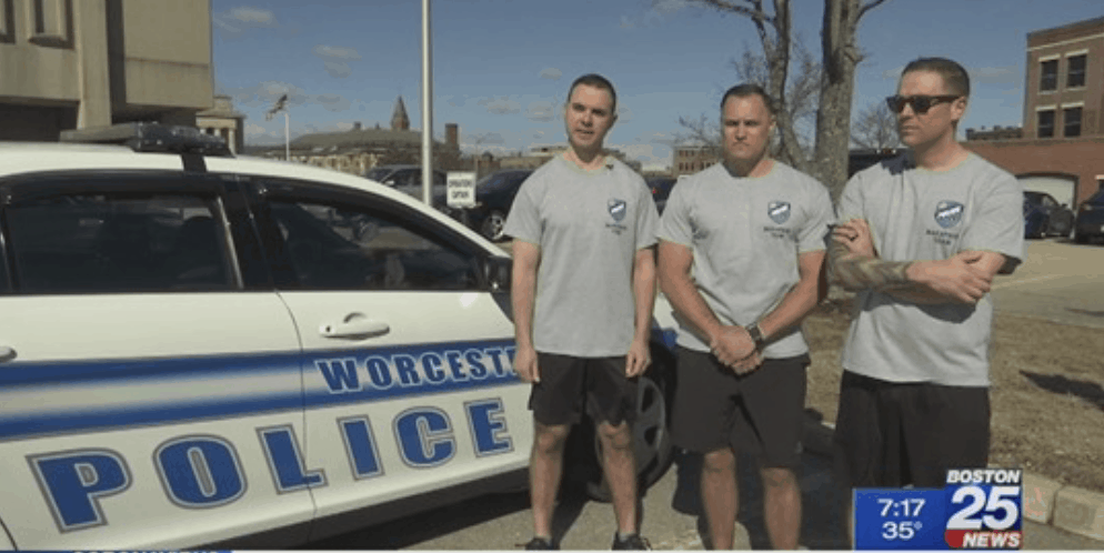 Worcester police team