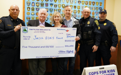 Cops for Kids with Cancer, Saugus Police Department support leukemia patient