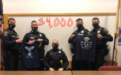 Thank you to the Stoneham PD for raising $4,000 for the No Shave November
