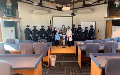 CFKWC donates to the Tryon family in North Attleboro on March 8th, 2021