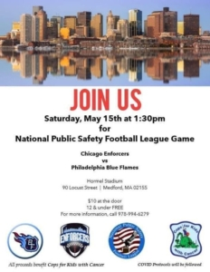 National Public Safety Football League @ Hormel Stadium | Medford | Massachusetts | United States